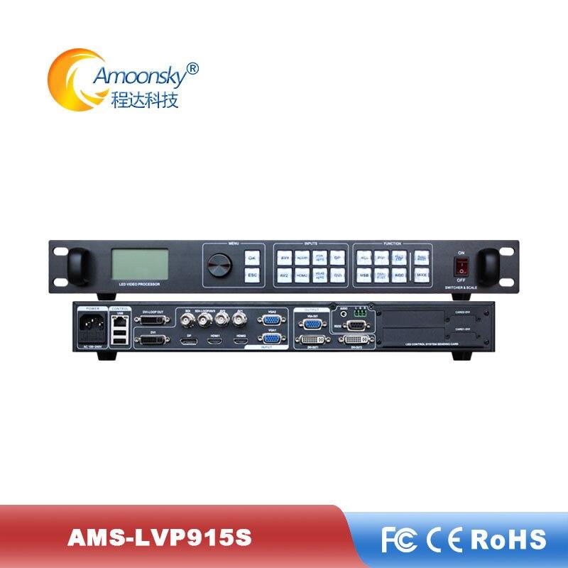 Controlador de Parede Comparar com Magnimage Uso de Alta Vídeo para p4 Resolução Display Processador Led Ams-lvp915s