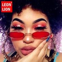 leonlion 2021 small round sunglasses women retro glasses for womenmen luxury brand eyeglasses women oculos de sol feminino