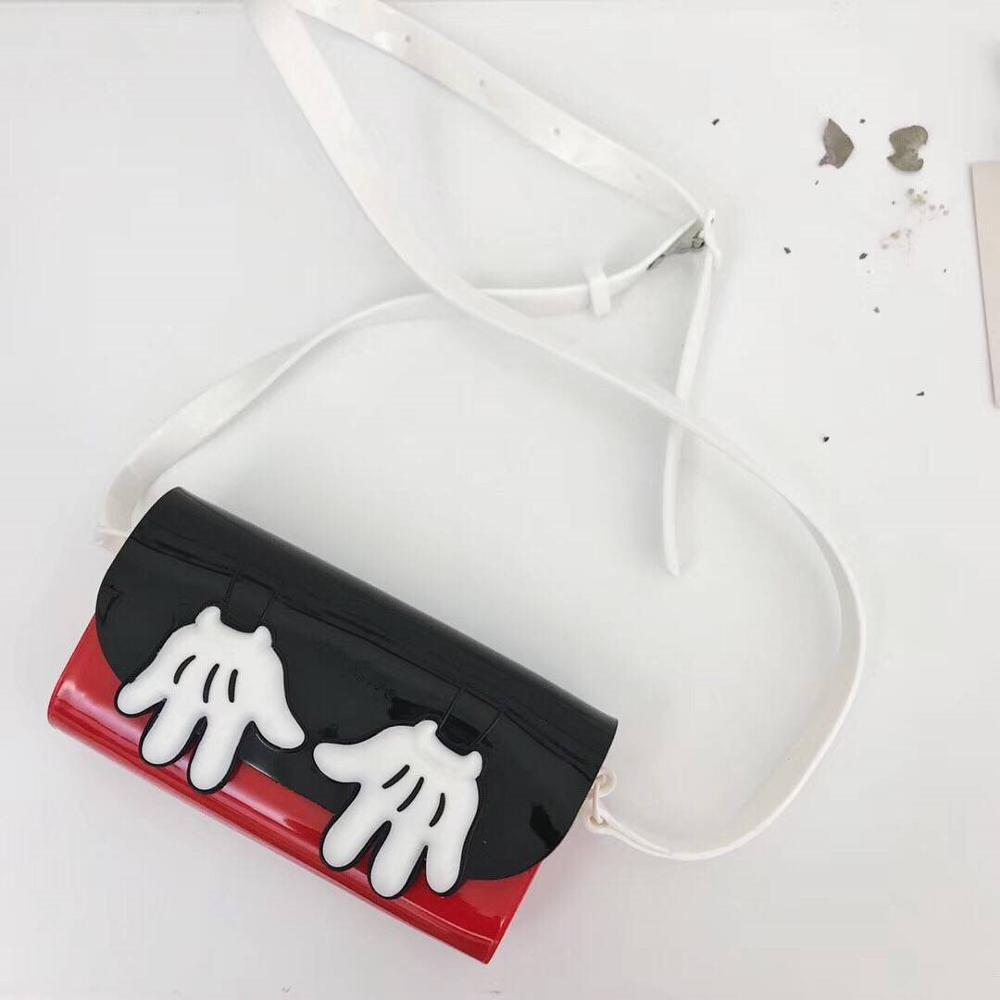 Mini Melissa Cute Bag 2019 Original Girl Boy Jelly Bag With Sandals 2 color