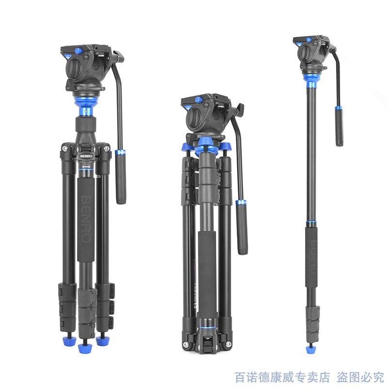 BENRO A2883fs4 ايرو 4 فيديو السفر الملاك ترايبود عدة المهنية حامل ثلاثي من الألمنيوم للكاميرا الفيديو