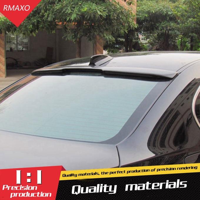 Für BMW E60 DACH Spoiler Hohe Qualität ABS Carbon Faser Auto Heckflügel Spoiler Für BMW E60 M5 520 525 528 535 Spoiler 2008-2011