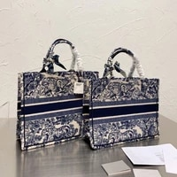 luxury brand new printed color matching phopping bag womens bag fashion tote handbags large capacity one shoulder handbags