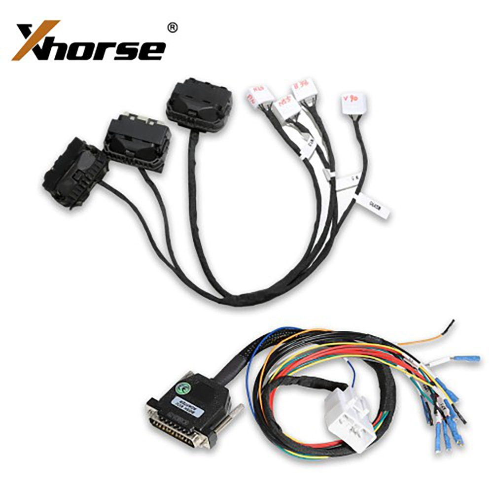 Xhorse For BMW DME Cloning Cable with Multiple Adapters B38 - N13 - N20 - N52 - N55 - MSV90 Work with VVDI PROG Diagnostic Tools