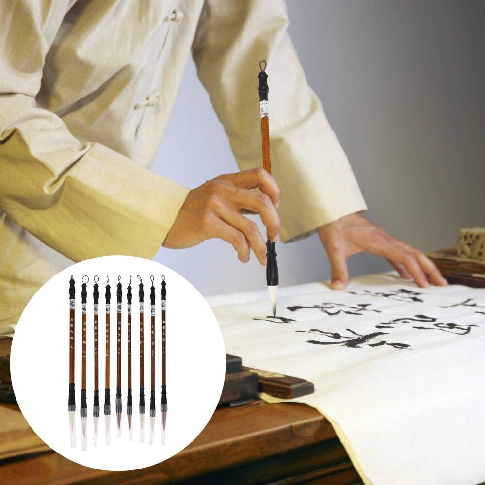 uds-1-bolsa-de-escritura-creativa-plumas-de-caligrafia-cepillos-cepillo-plumas-marron-claro