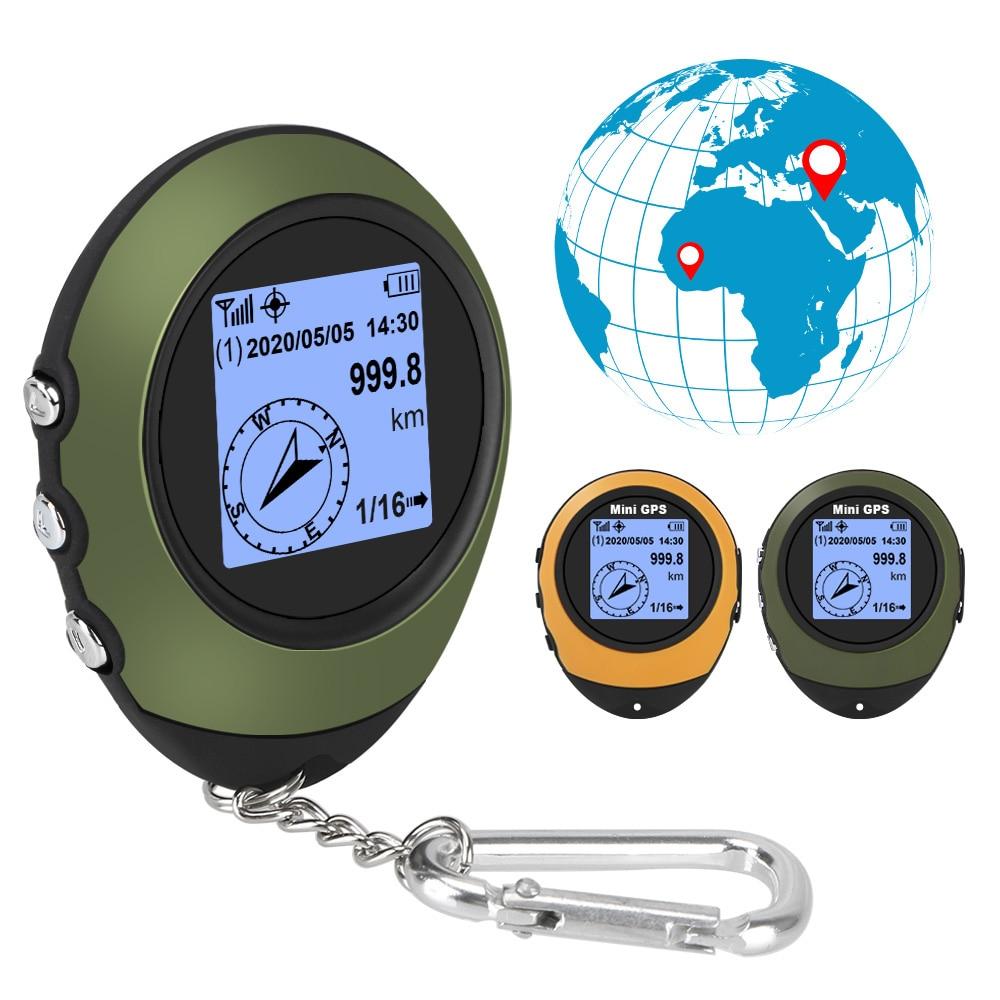 Компас для спорта на открытом воздухе, путешествий, пешего туризма, мини GPS-навигация, спутник, GPS-позиционер, портативный с пряжкой