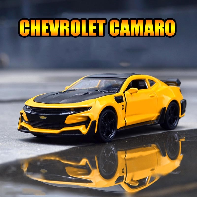1/32 Diecasts & Toy Vehicles Chevrolet Camaro Toy Car Model Collection Alloy Car Toys For Children C