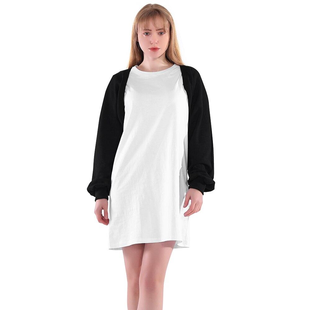Cropped Cardigan Black Short Coat Women Spring Summer Long Sleeve Fashion Harajuku Waistcoat Jacket Cloak Sweatshirt Female