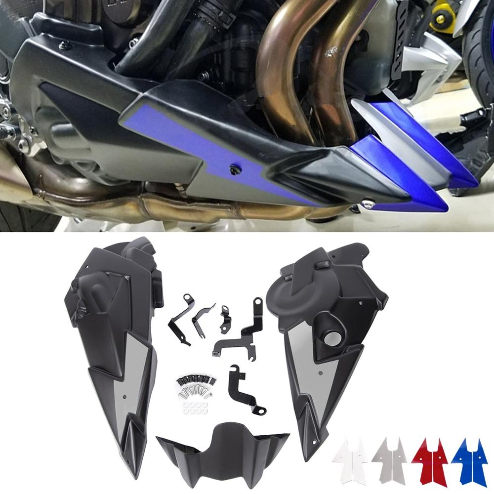 Para Yamaha Mt 07 Fz 07 2013 14 15 2016 2017 2018 2019 2020 Del Vientre Pan Motor Alerón Carenado De Fz07 Mt 07 Mt07 Accesorios De Motocicleta