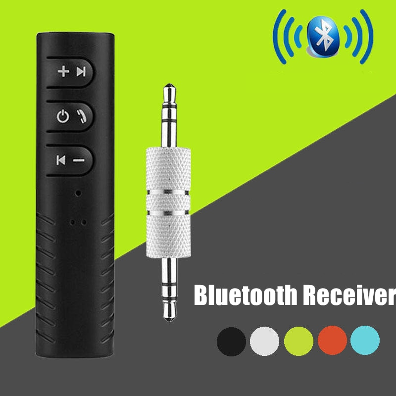 Bluetooth Receiver Wireless Car Audio Transmitter Rechargable Handsfree Call 3.5mm Jack Adapter Speaker Headphone Auto Aux Kit car styling universal bluetooth car kit wireless hands free music audio receiver adapter auto aux kit speaker headphone stereo