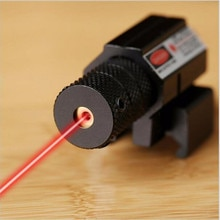 Тактический лазерный указатель, высокомощный красный точечный прицел, Вивер Пикатинни, набор для пистолетной винтовки, пистолет, выстрел, страйкбол, прицел для охоты