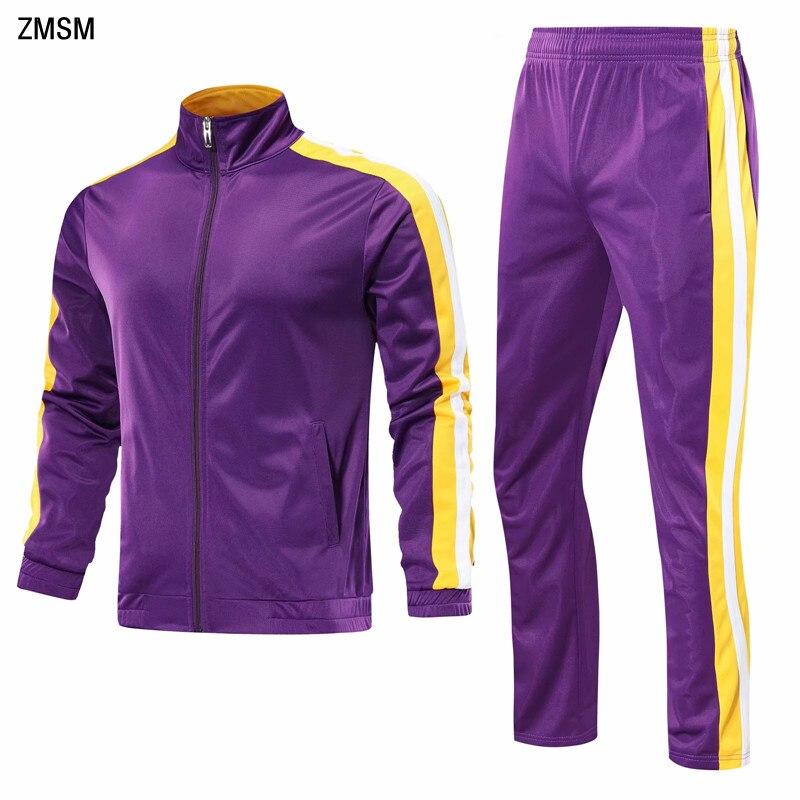 Juventude correndo jaquetas calças terno feminino & masculino mais fatos de treino de veludo basquete conjunto de treinamento conjunto de futebol jogging roupas esportivas