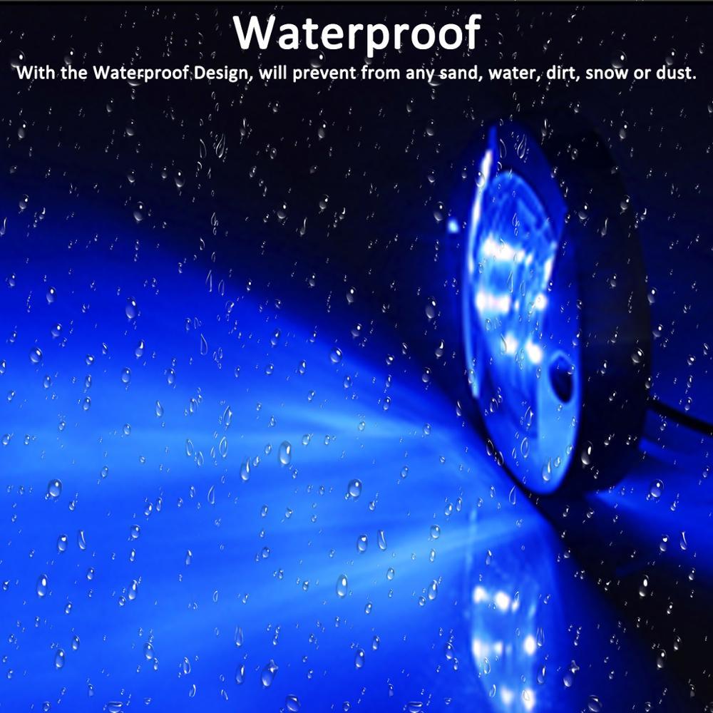 1X крусветильник я синяя 6 светодиодов 12 В лампа для лодки фонарь для лодки боковой маркер Сигналы поворота Индикатор морской лодки задний фо...