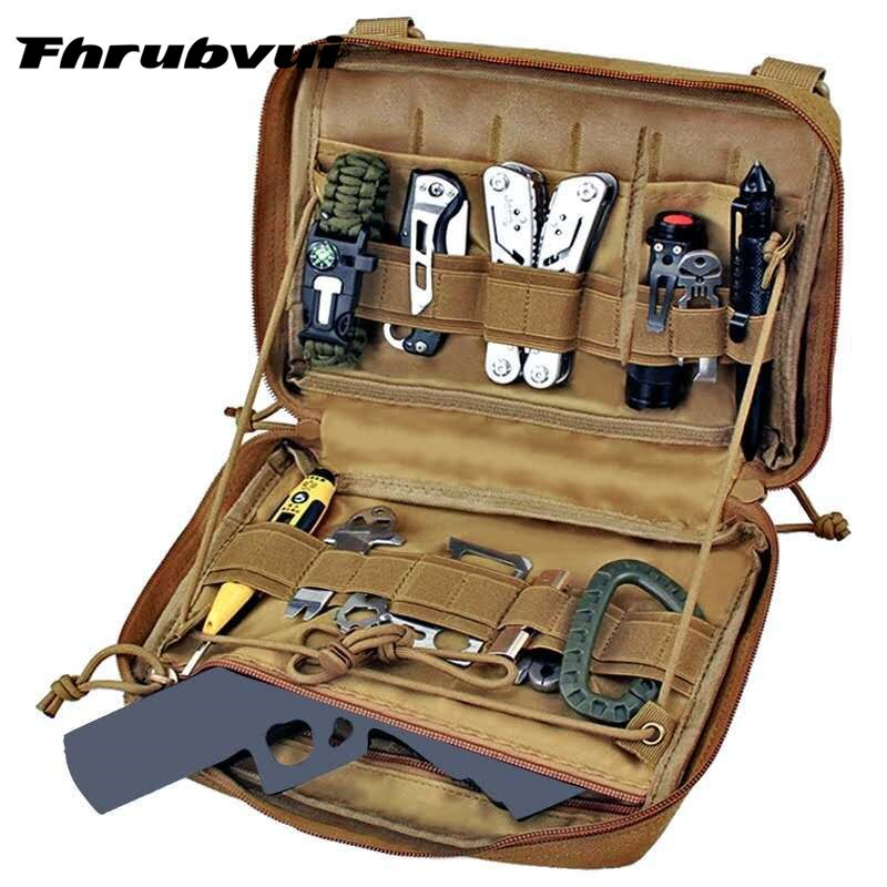 Military Pouch Bag Medical EMT Cover Tactical Package Outdoor Camping Hunting Utility Multi-tool Kit Accessories EDC Bag military molle admin pouch tactical multi medical kit bag utility tool belt edc pouch for camping hiking hunting 2018
