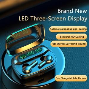 R3 TWS Wireless Bluetooth Earphone 5.1 Noise Cancel Touch Control Headphone Stereo Sports Waterproof Headset