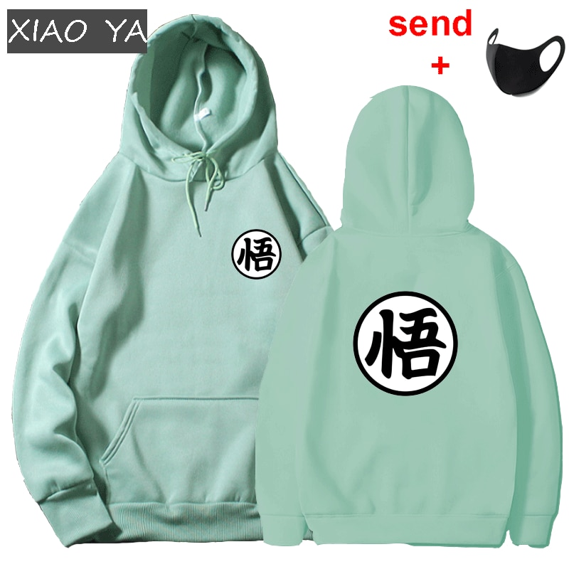 New Japanese Anime Men Woman Hooded Sweatshirt Multiple Colour Cute Cartoon Goku Print Harajuku Hoodie Sweatshirt Poleron Hombre