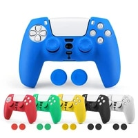 silicone case for ps5 thicken protective cover for sony playstation 5 gamepad accessories controller protection case joysticks