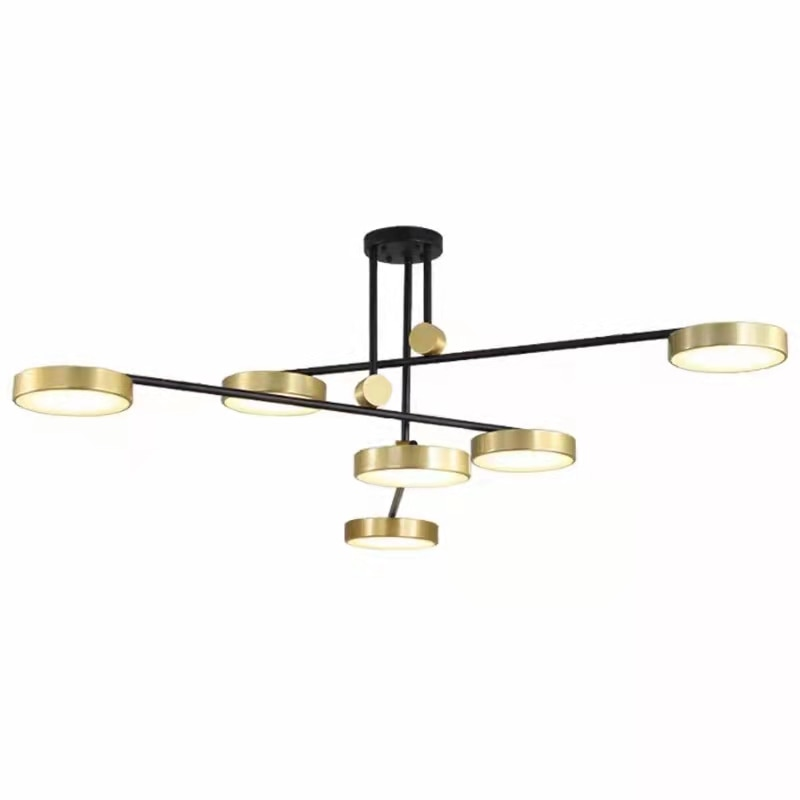 Post-modern Luxury LED Pendant Lights For Living Room Lamp Minimalist  Atmosphere Hotel Villa Rotating
