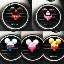 5Pcs Fragrance Clip Cartoon Perfume Car Wholesale PVC Lovely Vent Air Freshener Cute Mouse Auto Acce