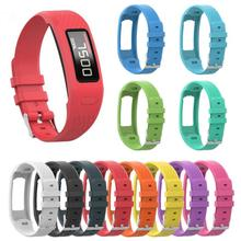 2020 bracelet en Silicone de remplacement de taille universelle Garmin Vivofit1 Vivofit2 Applicable pour bracelet de montre intelligent Garmin TXTB1
