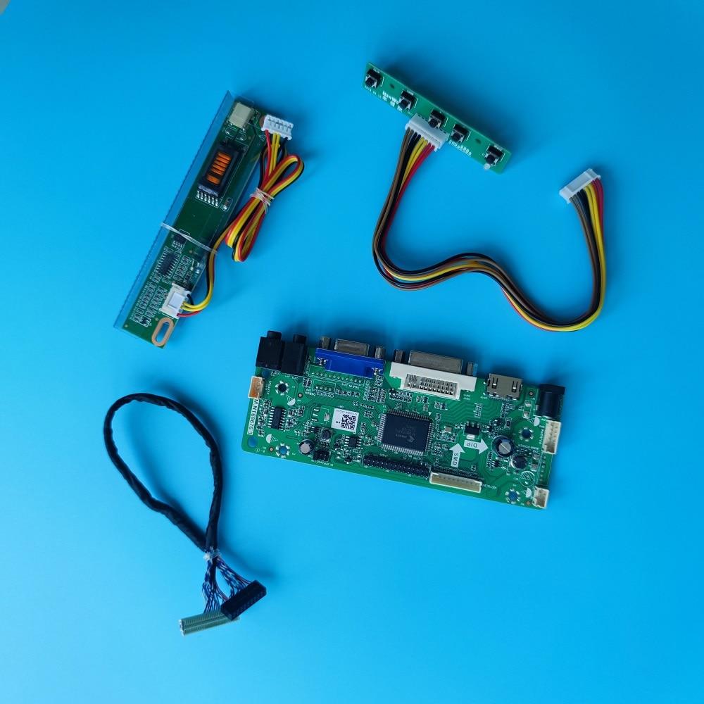ل HDMI-متوافق LTN160AT01-A02/A04/A01/F02/A05/W01 VGA LCD M.NT68676 طقم لوحة تحكم DVI 1366X768 16