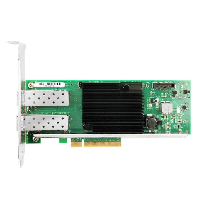 X710-DA2 сетевой Ethernet конвергентный адаптер PCI-Express 3,0x8 сетевая карта 10 Гб Intel X710 SFP +