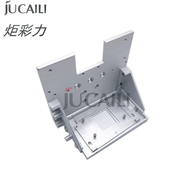 طابعة Jucaili رأس واحد الإطار تحويل ل xp600 dx5 dx7 5113 4720 I3200 رأس الطباعة قوس حامل الرأس لوحة