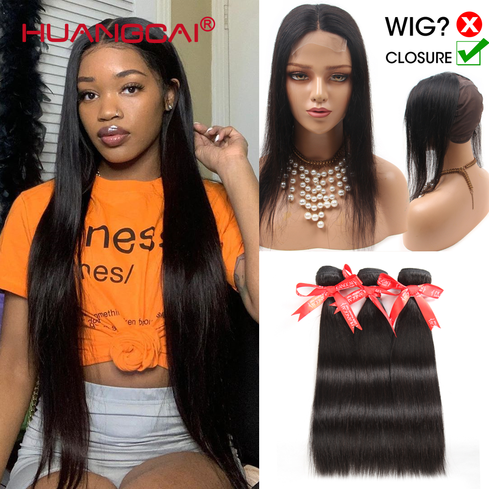 32-36-38-40-inch-long-straight-bundles-with-cap-closure-human-hair-brazilian-hair-weave-super-closure-remy-hair-sale-for-women
