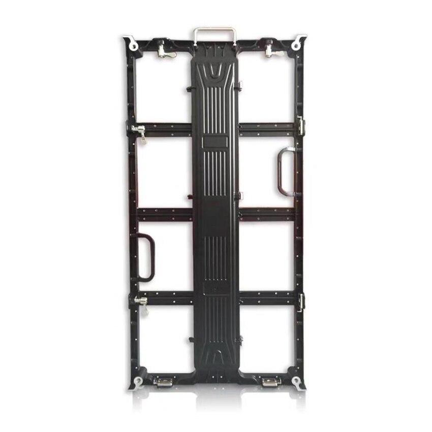 Digital 500*1000mm leere Outdoor/Indoor P3.91/P 4,81 druckguss aluminium display schrank panel led video wand bord ali express