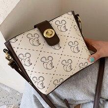 Luxury Women Bags Mickey Lady shoulder bag Brand Purses Handbags Women Designer Small Shoulder Crossbody Bags Female Totes