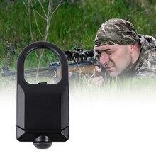 Tactique rapide détacher RSA GBB boucle fusil fronde pivotant crochet fixation adaptateur pour 20mm Picatinny Weaver Rail chasse pistolet
