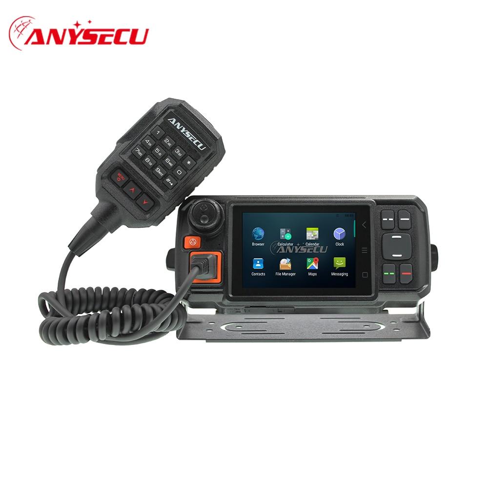 Anysecu-راديو السيارة 4G Android ، جهاز إرسال واستقبال شبكة 4G ، GPS ، جهاز اتصال لاسلكي ، POC ، راديو محمول ، Anysecu N60 Plus ، Android ، Wifi