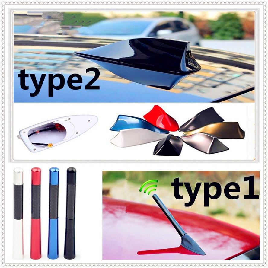 Accesorios de estilo de coche Antena de señal de Radio automática antena FM antenas de techo para Renault Megane Kadjar EZ-GO Captur Arkana Zoe
