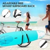 surfboard wakeboard bike rack bicycle surfing carrier mount to seat post surfboard bike side holder riding bike rack accessories