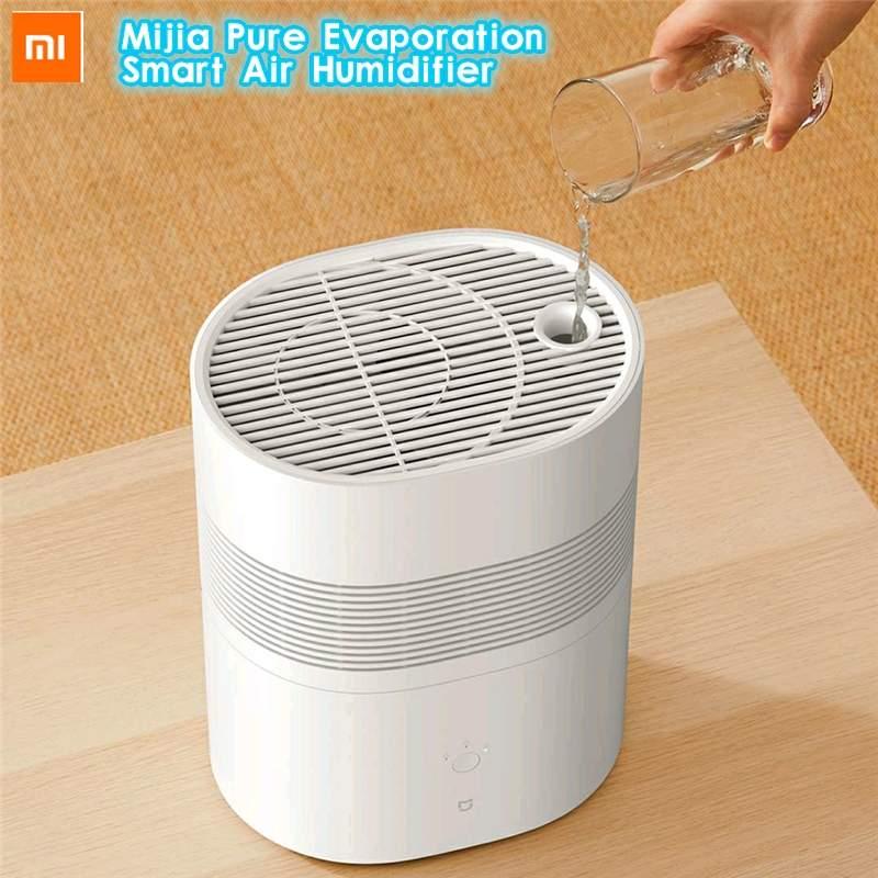 جهاز شاومي ميجيا الذكي للتبخر النقي جهاز ترطيب الهواء 240ml/ساعة جهاز تبخر الرذاذ جهاز ذكي للتحكم في الرطوبة مزود بتطبيق
