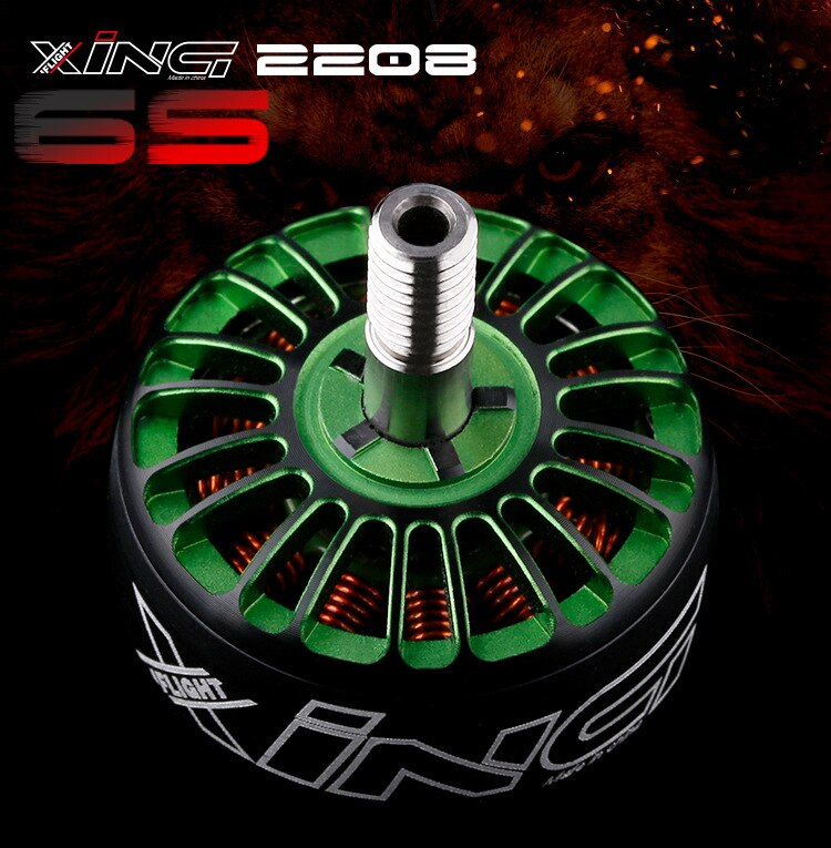 Motor de carreras IFLIGHT Wing Se * 2208 1800kv 2450kv a través de FPV