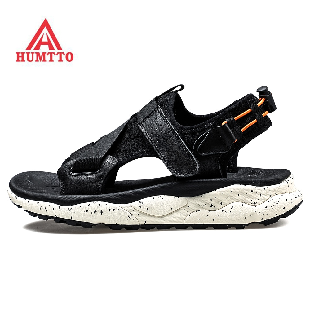 humtto summer men sandals 2021 breathable beach sandals for men's outdoor water mens hiking camping fishing climbing aqua shoes 2020 HUMTTO Men's Cushioned Outdoor Sports Summer Trekking Hiking Beach Sandals Slippers Shoes For Men Gym Sandals Shoes Man
