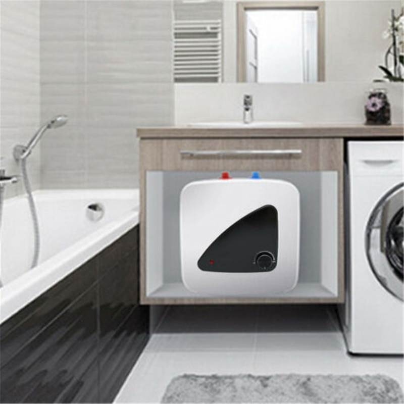 Yonntech 12L 1500W Electric Kitchen Water Heater Storage Tank Mini Home Bathroom Under Sink Hot Water Boiler
