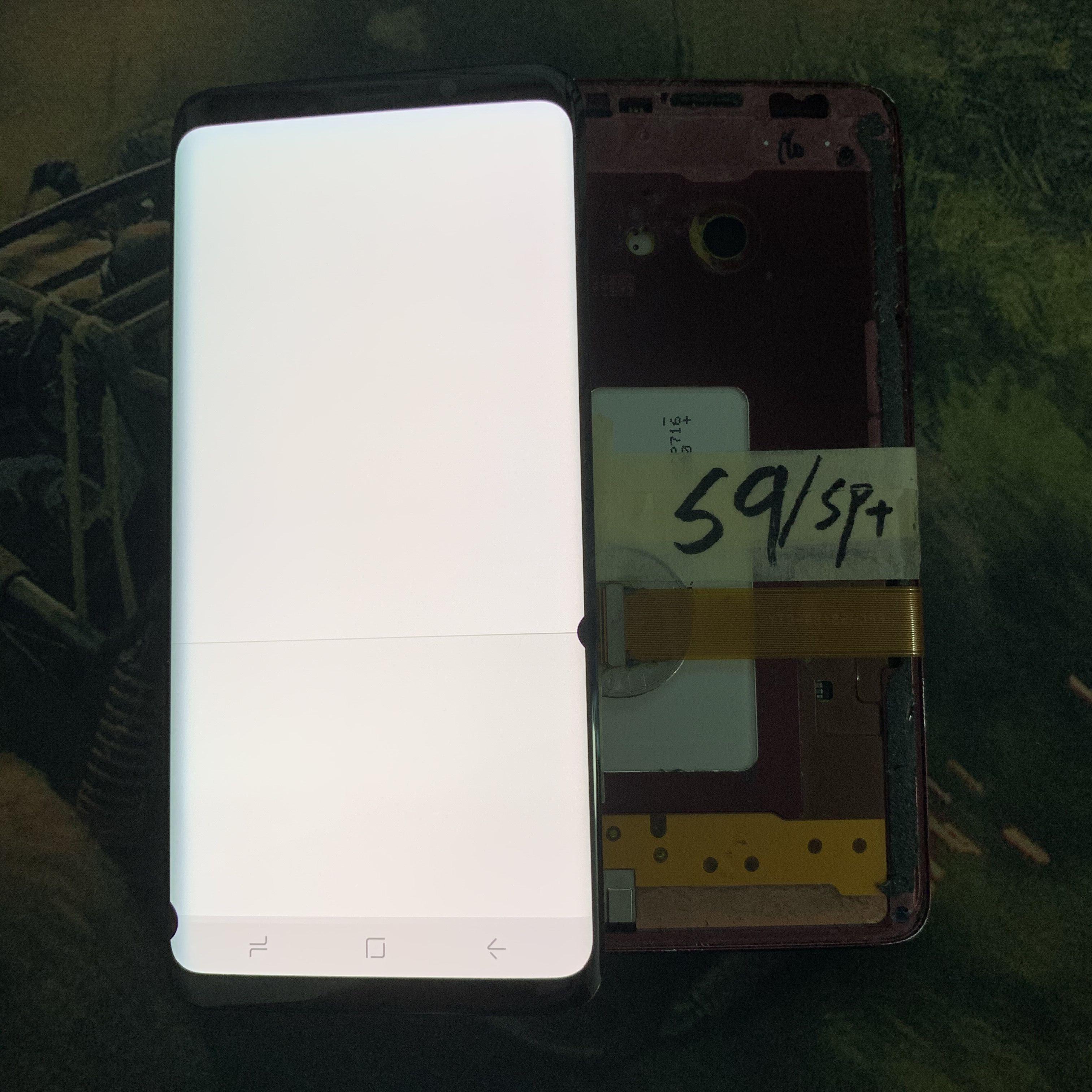 Big dot big burn big line Have a line AMOLED Test For Samsung Galaxy S9 G960 S9+ G965F G965W Touch Screen Digitizer LCD Display enlarge
