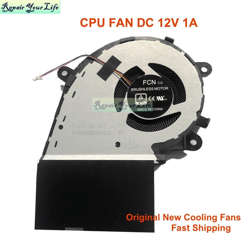 مراوح تبريد وحدة المعالجة المركزية للكمبيوتر لـ Asus ROG Strix GL731G GL731GW GL731GL GL731GU GL731GT بطاقة الرسومات VGA مروحة تبريد تيار مستمر 12 فولت 5 فولت