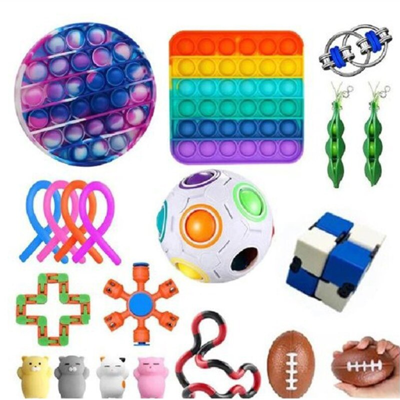 Fidget Toys Anti Stress Set Stretchy Strings Pop Gift Pack Adults Children Squishy Sensory Antistress Relief Figet Toys enlarge