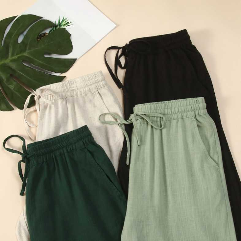 Internet Celebrity Wide-Leg Pants Women's Pants High Waist Spring and Summer 2020 New Loose Drooping