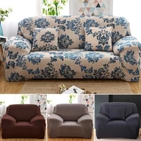 stretch floral sofa covers for living room funda sofa chair couch cover home decor 1234 seater elastic housse canape summer
