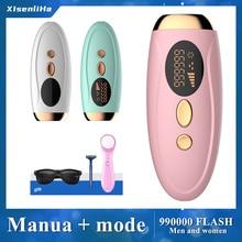 IPL Laser Epilator for Women Laser Hair Removal Device 990000 flashes Permanent Depilador depilador