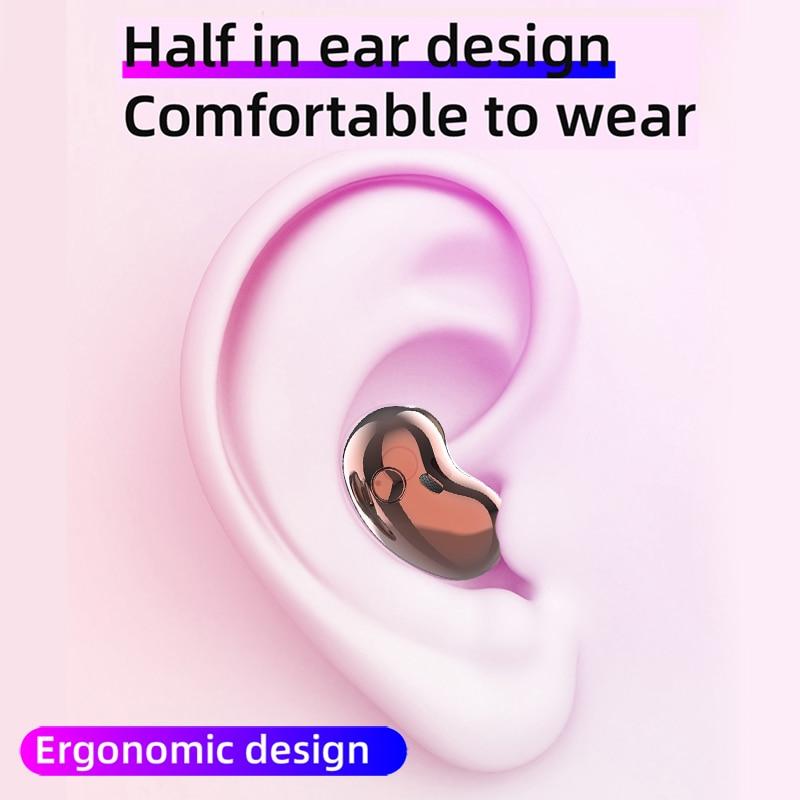 Bluetooth Earphone Stereo Headset for IOS Samsung Buds LiveWireless Headphones Bluetooth 5.1 TWS Headphones with Microphone enlarge