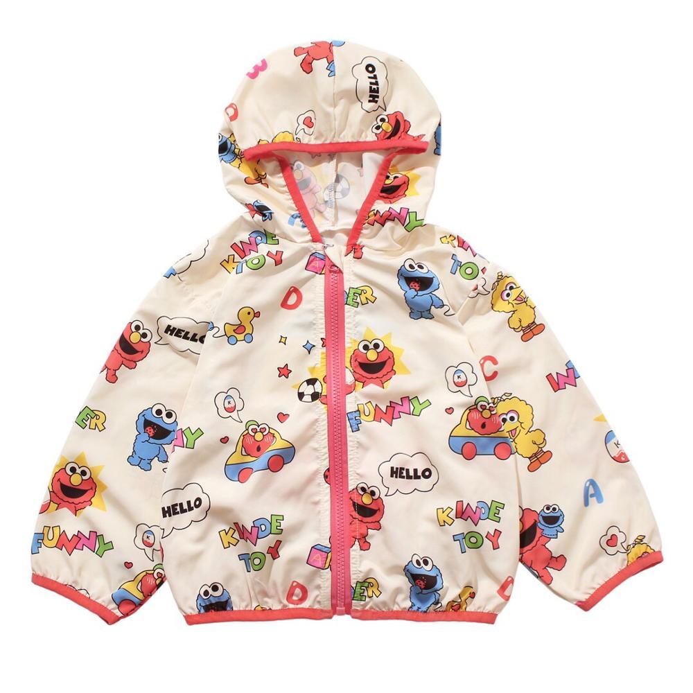 Chaqueta de bebé de verano con capucha con diseño de dibujos animados, prendas de vestir diseño fino, chaqueta blazer para niños
