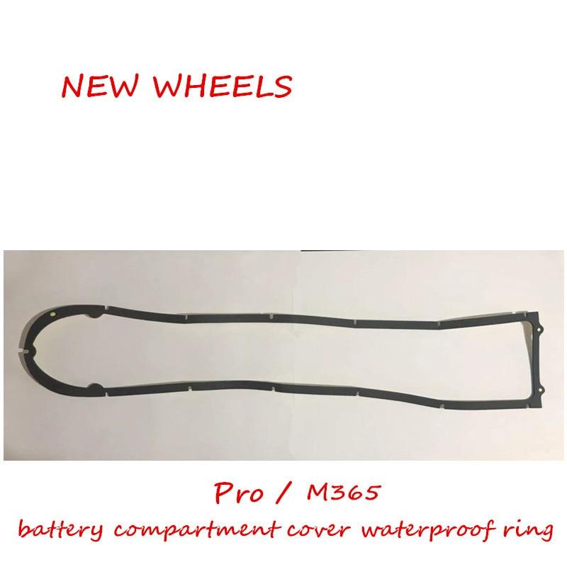 1s/m365/pro scooter elétrico peças compartimento da bateria capa anel à prova dwaterproof água anti-roubo parafuso chave especial