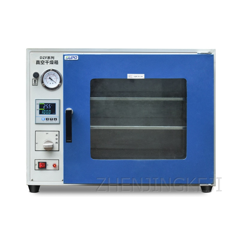 220V Electro-thermal Constant Temperature Vacuum Oven Digital Display Automatic Voltage Regulation Surround Heating Drying Box