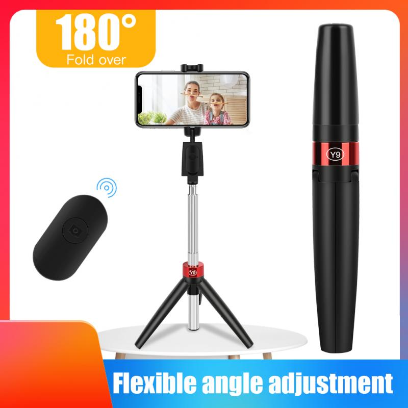 huawei honor af15 selfie stick tripod bluetooth 3 0 portable wireless bluetooth control handheld for for android ios huawei 3 In 1 Wireless Bluetooth Mobile Phone Holder Selfie Stick With Tripod  Detachable Bluetooth Remote Control For IPhone Huawei