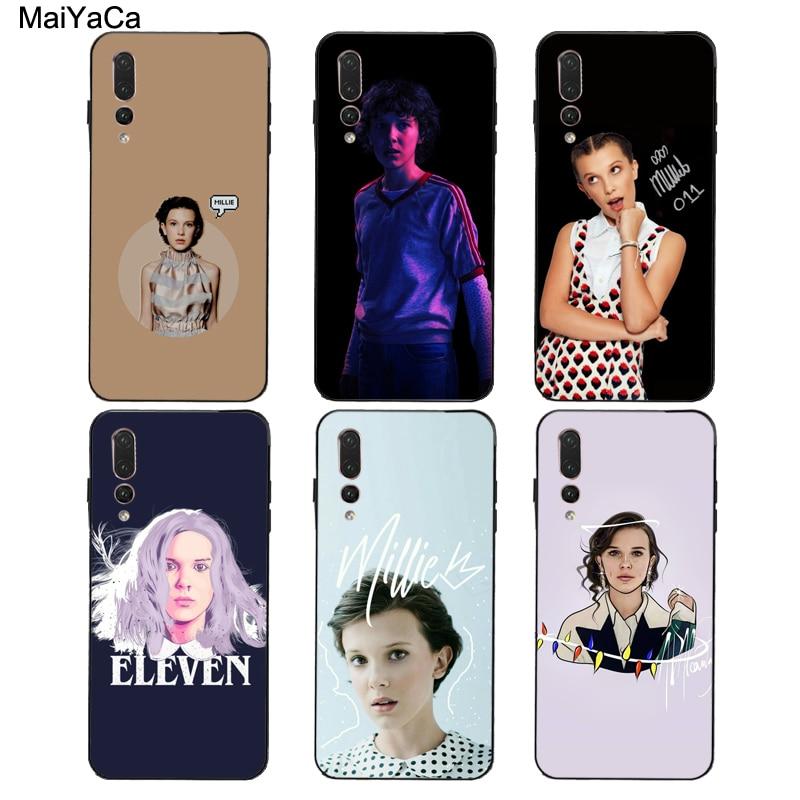 MaiYaCa Millie Bobby Brown funda para Huawei Honor 7A Pro 7C 10i 9 10 20 Lite 9X 8A 8C 8S 8X Y6 Y9 Y7 2019 Nova 5T