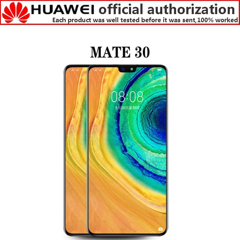 Nueva y ORIGINAL pantalla LCD para Huawei Mate30 Mate 30 pantalla LCD Digitalizador de pantalla táctil TAS-L09 TAS-L29